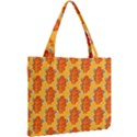 Bugs Eat Autumn Leaf Pattern Mini Tote Bag View2