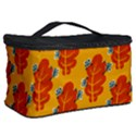 Bugs Eat Autumn Leaf Pattern Cosmetic Storage Case View2
