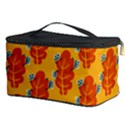 Bugs Eat Autumn Leaf Pattern Cosmetic Storage Case View3