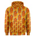 Bugs Eat Autumn Leaf Pattern Men s Pullover Hoodie View1