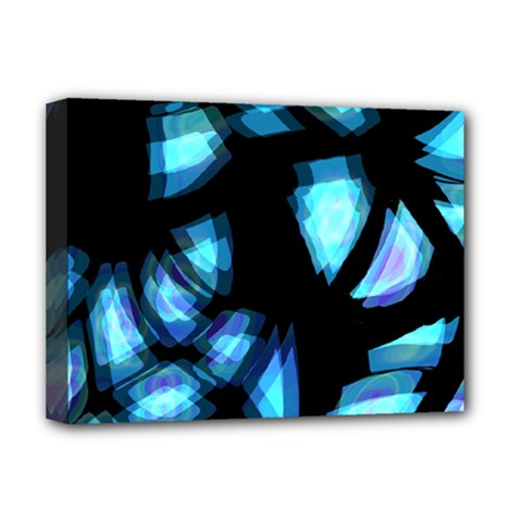 Blue Light Deluxe Canvas 16  X 12