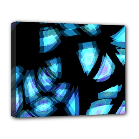 Blue light Deluxe Canvas 20  x 16