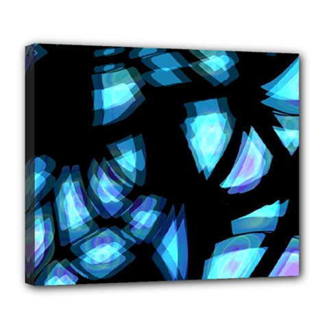 Blue light Deluxe Canvas 24  x 20
