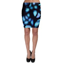 Blue light Bodycon Skirt