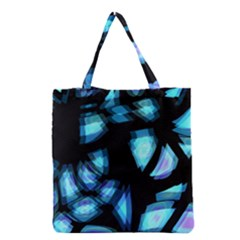 Blue Light Grocery Tote Bag