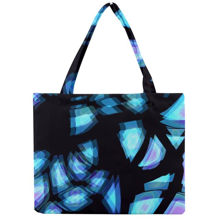 Blue light Mini Tote Bag