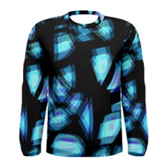 Blue Light Men s Long Sleeve Tee