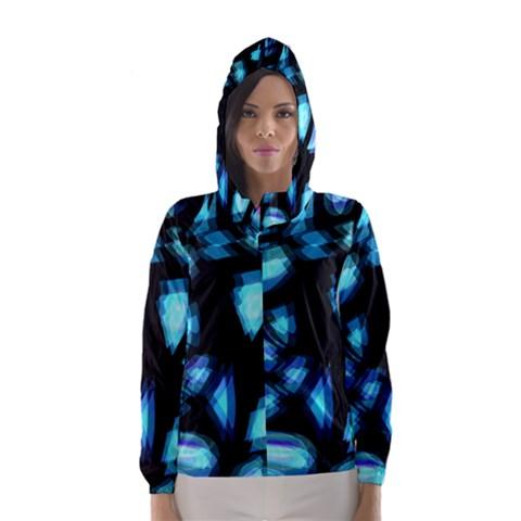 Blue light Hooded Wind Breaker (Women)