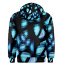 Blue light Men s Pullover Hoodie View2