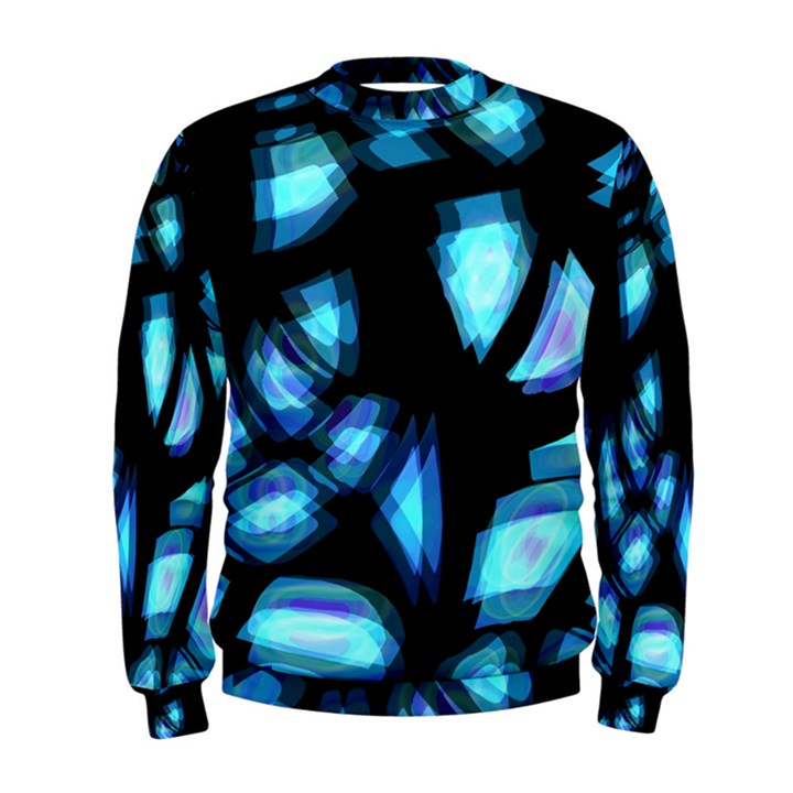 Blue light Men s Sweatshirt