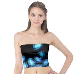 Blue light Tube Top