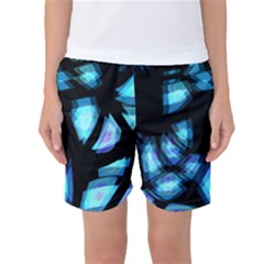 Blue Light Women s Basketball Shorts
