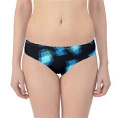 Blue light Hipster Bikini Bottoms