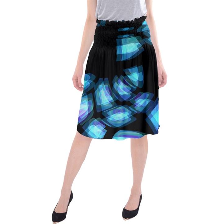 Blue light Midi Beach Skirt