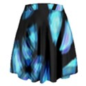 Blue light High Waist Skirt View2
