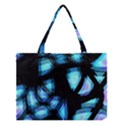 Blue light Medium Tote Bag View1