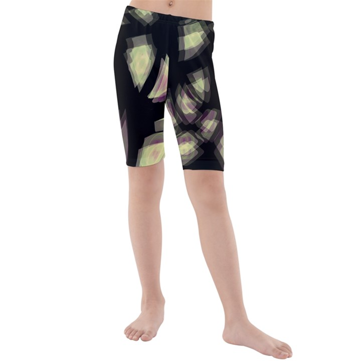 Follow the light Kids  Mid Length Swim Shorts