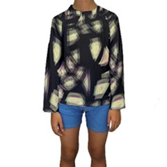 Follow The Light Kids  Long Sleeve Swimwear