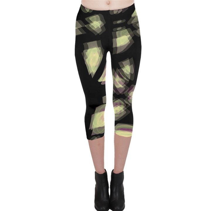 Follow the light Capri Leggings