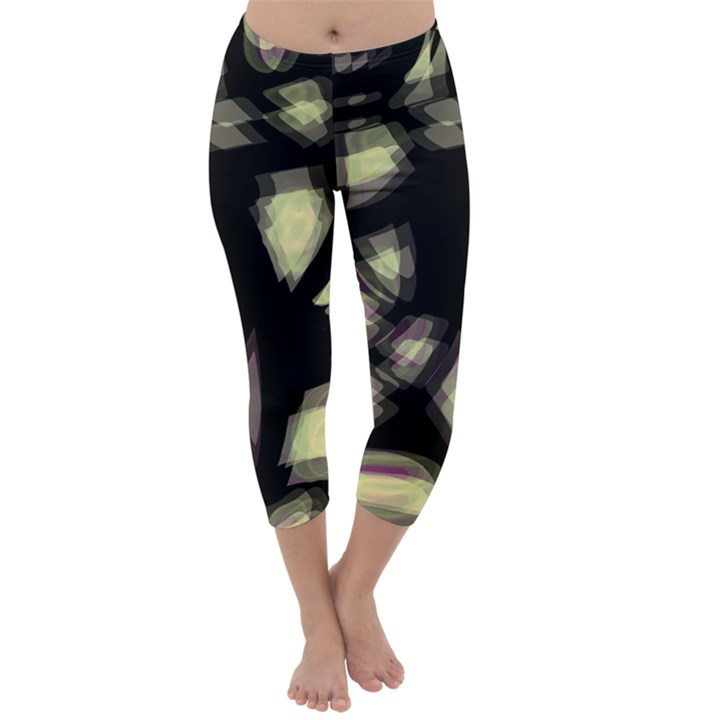 Follow the light Capri Winter Leggings