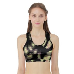 Follow The Light Sports Bra With Border