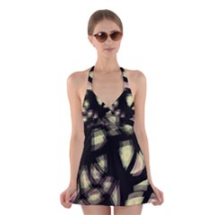 Follow the light Halter Swimsuit Dress