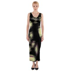 Follow the light Fitted Maxi Dress
