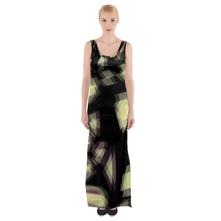 Follow the light Maxi Thigh Split Dress
