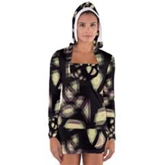 Follow the light Women s Long Sleeve Hooded T-shirt
