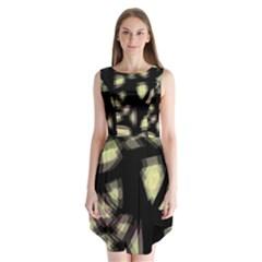 Follow the light Sleeveless Chiffon Dress