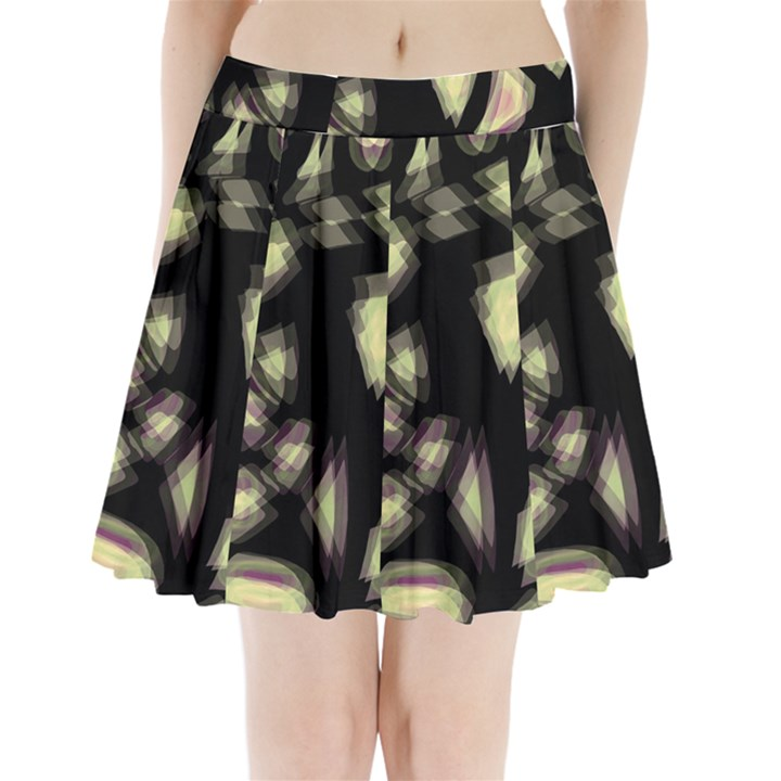 Follow the light Pleated Mini Skirt