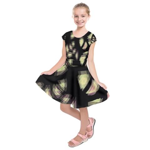 Follow the light Kids  Short Sleeve Dress