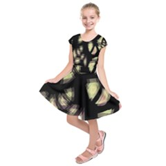 Follow the light Kids  Short Sleeve Dress