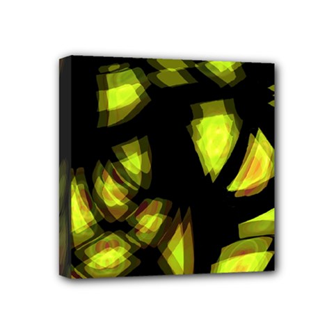 Yellow light Mini Canvas 4  x 4