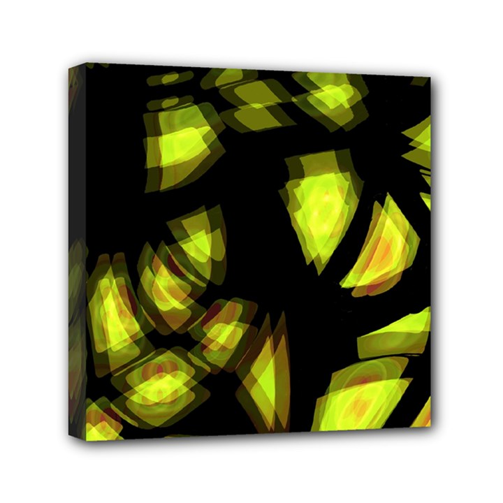 Yellow light Mini Canvas 6  x 6