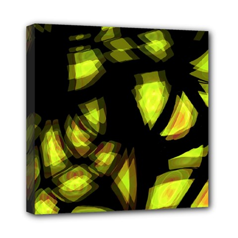 Yellow Light Mini Canvas 8  X 8