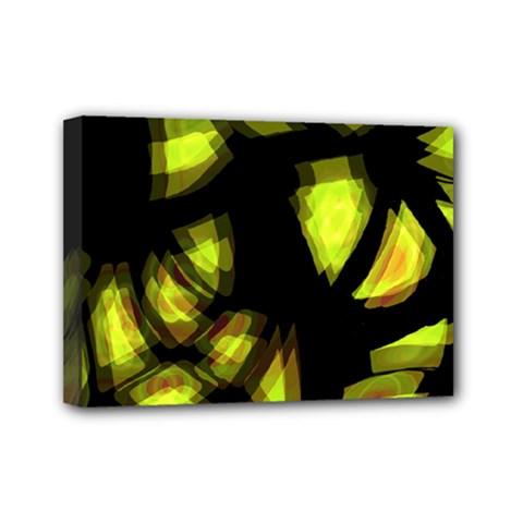 Yellow light Mini Canvas 7  x 5