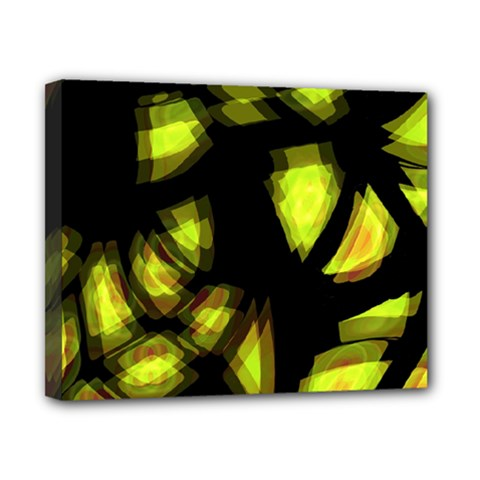 Yellow light Canvas 10  x 8