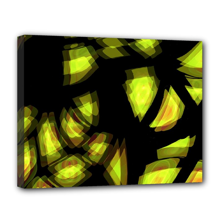 Yellow light Canvas 14  x 11