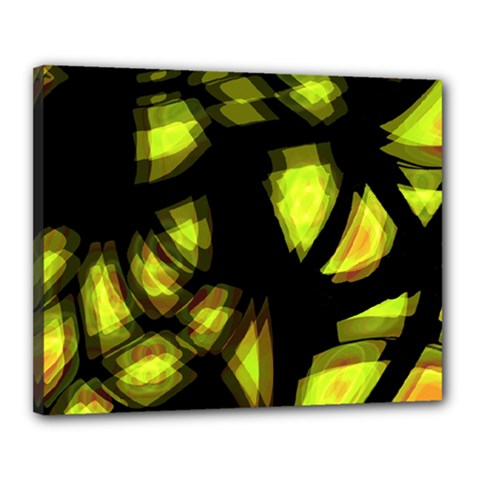 Yellow Light Canvas 20  X 16