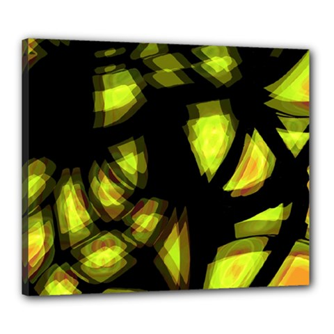 Yellow light Canvas 24  x 20