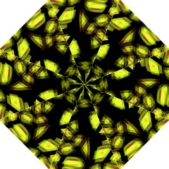 Yellow Light Folding Umbrellas
