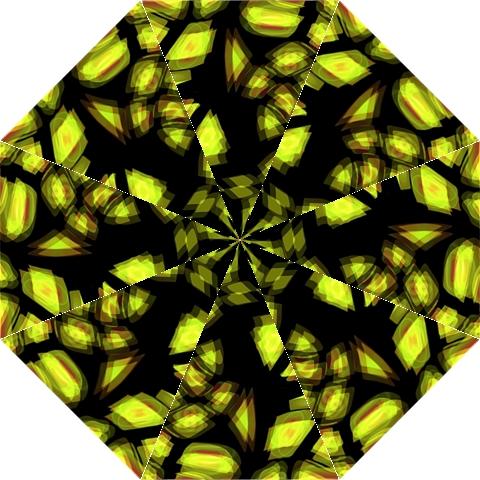 Yellow light Straight Umbrellas