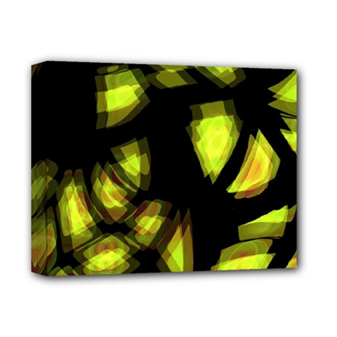 Yellow light Deluxe Canvas 14  x 11