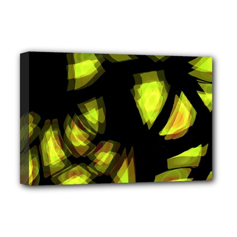 Yellow light Deluxe Canvas 18  x 12