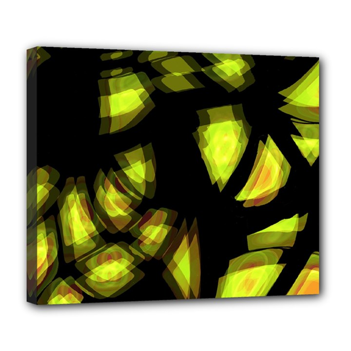 Yellow light Deluxe Canvas 24  x 20