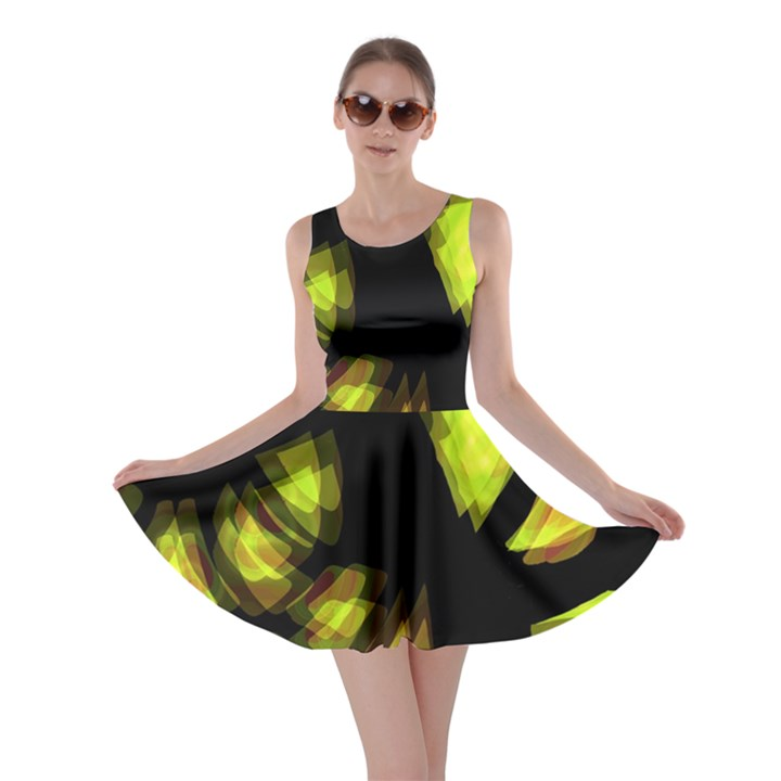 Yellow light Skater Dress