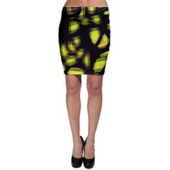 Yellow light Bodycon Skirt