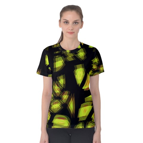 Yellow light Women s Cotton Tee
