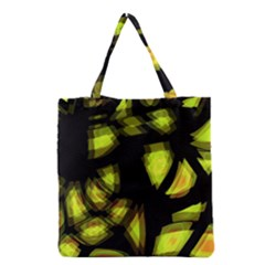 Yellow light Grocery Tote Bag